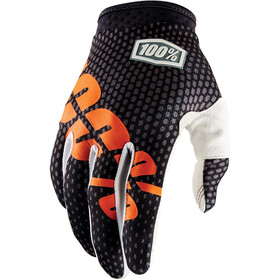 100% iTrack Gloves charcoal